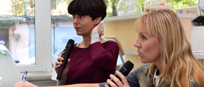 """Лекция Аны Вуянович """"Vita Performactiva""""  (2013)"""