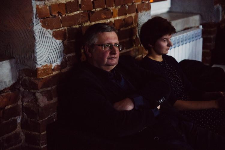 Кляўдыюш Свянціцкі і Марыя Пушкіна. Фота А. Навумчык